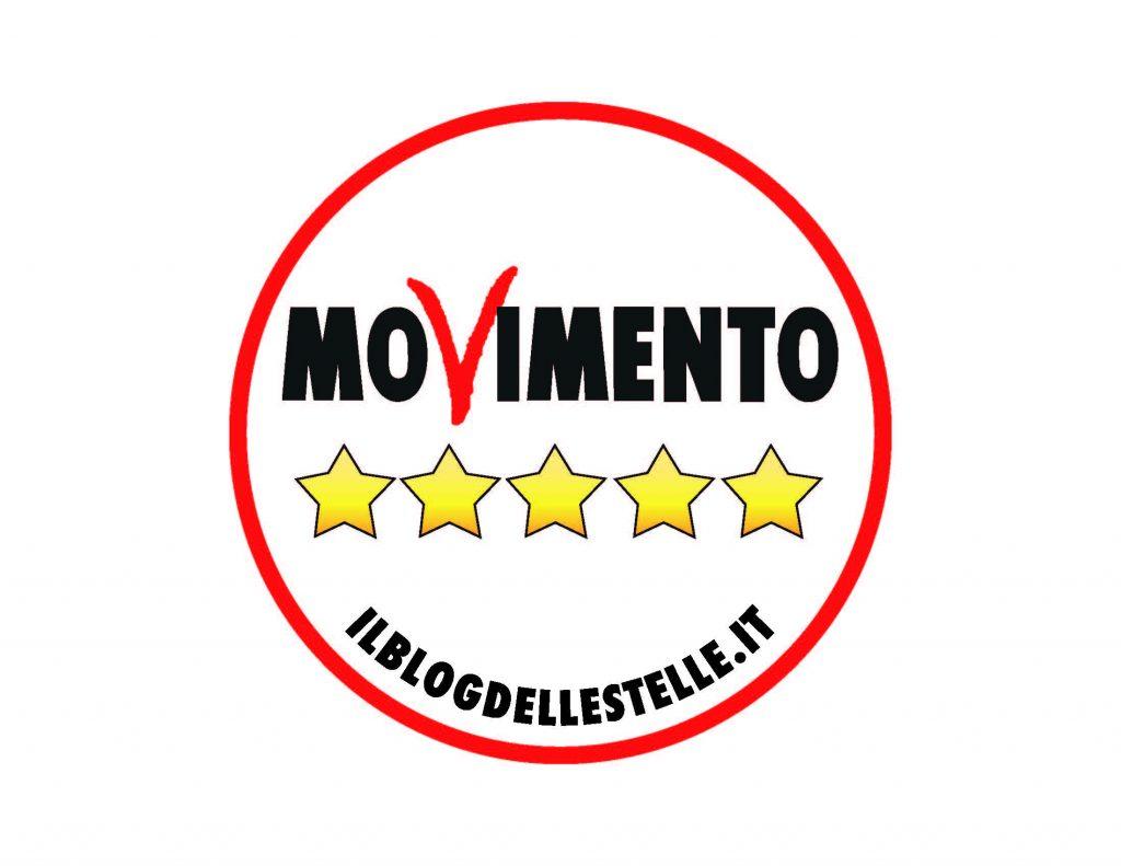 Nuovo logo m5s elezioni 2018 movimento 5 stelle san clemente for Esponenti movimento 5 stelle